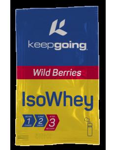 ISO WHEY  Sabor-Wild berrys Formato-Caja 6 monodosis